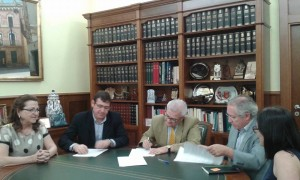 firma convenio museo